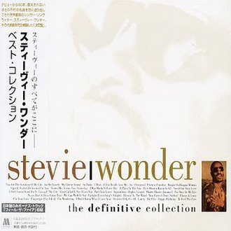 The Definitive Collection (Stevie Wonder album) - Image: Wonder Japan