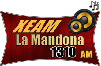 XEAM-AM - Logo as La Mandona 1310