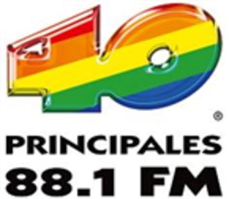 XHZN-FM (Michoacán) - XHZN Previous Los 40 Principales Logo