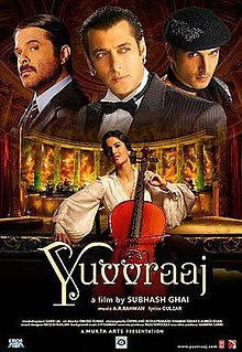Yuvvraaj (2008) SL YT - Anil Kapoor, Salman Khan, Zayed Khan and Katrina Kaif