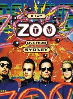 <i>Zoo TV: Live from Sydney</i> Concert video release by U2