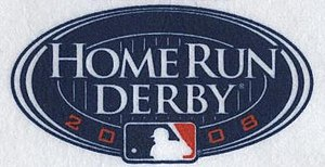 2008 Major League Baseball Home Run Derby - Image: 2008Home Run Derby Logo