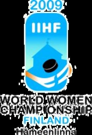 2009 IIHF Women's World Championship - Image: 2009 IIHF Women's World Championship