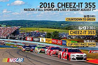 2016 Cheez-It 355 at The Glen race 22 of 2016 NASCAR Sprint Cup series