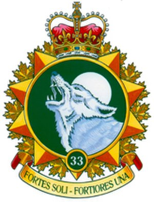 33 Canadian Brigade Group - Formation patch of 33 Canadian Brigade Group.
