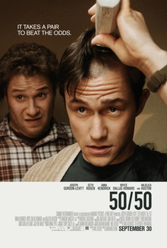 50/50 (2011 film) - Theatrical release poster