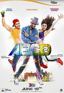 Download ABCD 2 (2015) Hindi Full Movie 480p [350MB] | 720p [1GB]