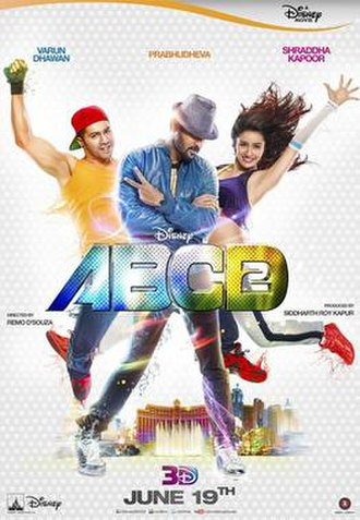 ABCD 2 - Theatrical release poster