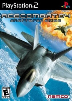 Ace Combat 04: Shattered Skies US box art
