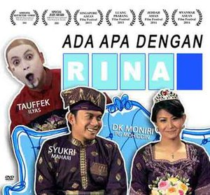 Ada Apa Dengan Rina -  Ada Apa Dengan Rina DVD cover (in low resolution for identification purpose)