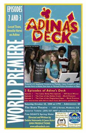 Adina's Deck - poster from 2008 series premiere
