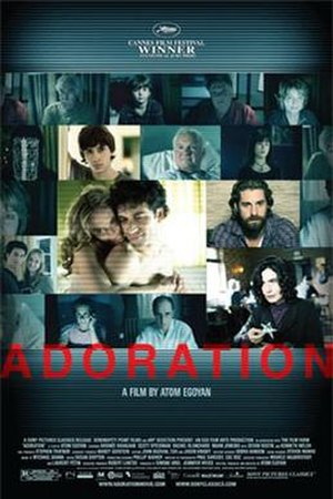 Adoration (2008 film) - U.S. theatrical poster