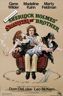 <i>The Adventure of Sherlock Holmes Smarter Brother</i> 1975 film by Gene Wilder
