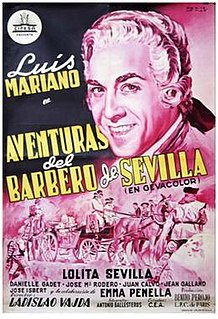 <i>Adventures of the Barber of Seville</i> 1954 film