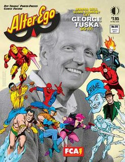 <i>Alter Ego</i> (magazine) American magazine devoted to the Golden Age and Silver Age of Comic Books