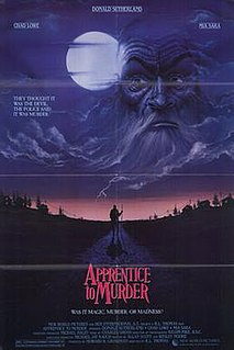 <i>Apprentice to Murder</i> 1988 film by Ralph L. Thomas