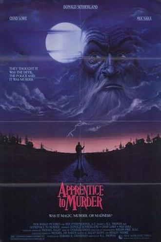 Apprentice to Murder - Image: Apprentice to murder movie poster 1988