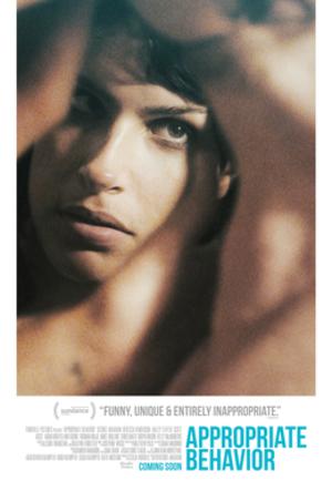 Appropriate Behavior - Theatrical release poster