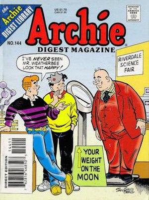 Mr. Weatherbee - Image: Archie Comics Digest 144