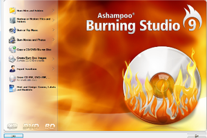 Ashampoo Burning Studio - Image: Ashampoo Burning Studio