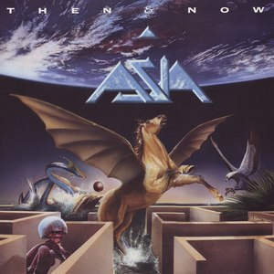 Then & Now (Asia album) - Image: Asia Then & Now (1990) front cover