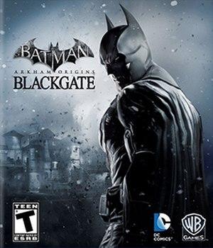 Batman: Arkham Origins Blackgate - Image: Batman Arkham Origins Blackgate cover