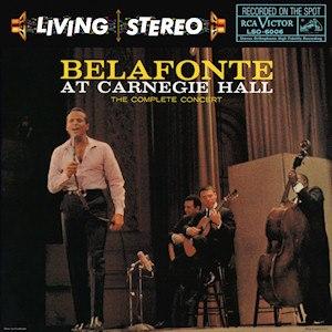 Belafonte at Carnegie Hall - Image: Belafonte at Carnegie Hall