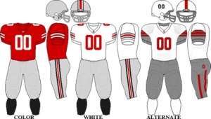 2009 Ohio State Buckeyes football team - Image: Big Ten Uniform OSU 2009