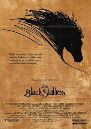 The Black Stallion (film) - 1979 poster