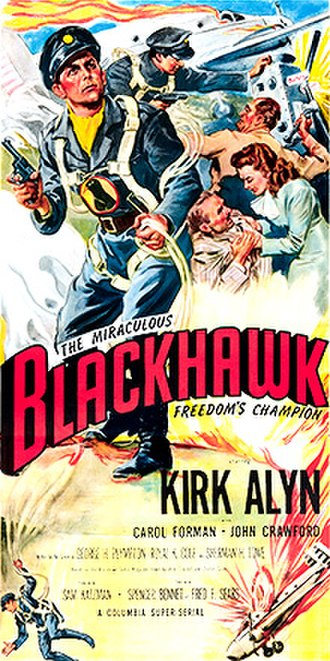 The Miraculous Blackhawk: Freedom's Champion - Theatrical release poster