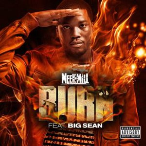 Burn (Meek Mill song) - Image: Burn by Meek Mill cover