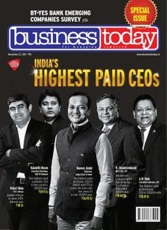 Business Today (India) - Image: Business today magazine