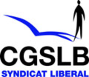 General Confederation of Liberal Trade Unions of Belgium - Image: CGSLB logo
