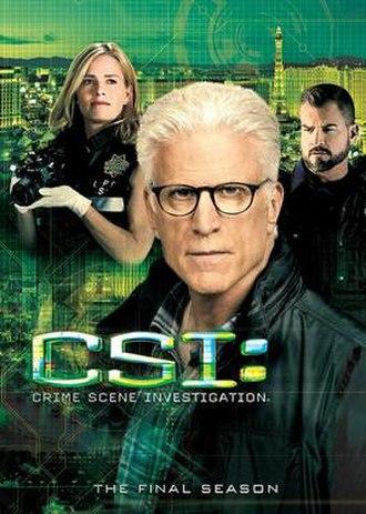 CSI: Crime Scene Investigation (season 15) - Season 15 U.S. DVD cover