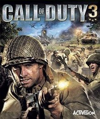 Call of Duty 3 - Image: Call of Duty 3 Game Cover