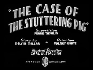 The Case of the Stuttering Pig - Image: Case of the Stuttering Pig