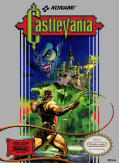 <i>Castlevania</i> (1986 video game) 1986 video game