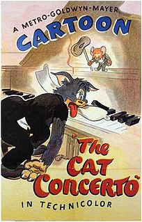 <i>The Cat Concerto</i> 1946 American animated short film