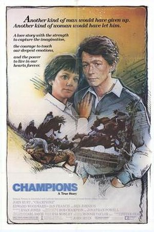 Champions (1984 film) - Theatrical release poster