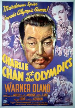 Charlie Chan at the Olympics - Image: Charlie Chan at the Olympics Film Poster