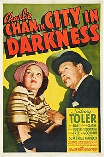 <i>Charlie Chan in City in Darkness</i> 1939 film by Herbert I. Leeds