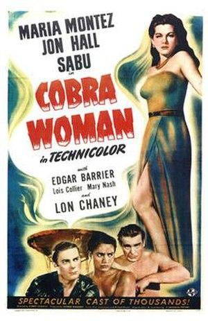 Cobra Woman - Image: Cobrawoman