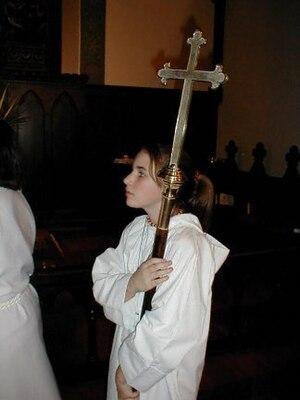 Crucifer - A crucifrice