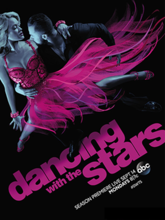 Dancing with the Stars (U.S. season 21) - Promotional poster, featuring pro dancers Peta Murgatroyd and Artem Chigvintsev