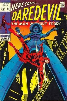 Daredevil cover - number 48