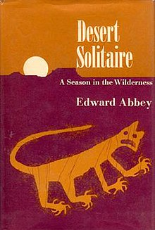 desert solitaire desertsolitaire jpg first edition cover author edward abbey