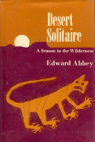 Desert Solitaire - First edition cover
