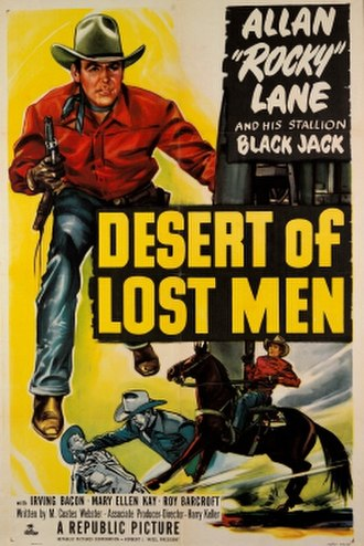 Desert of Lost Men - Theatrical release poster