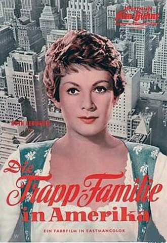 The Trapp Family in America - German theatrical release poster