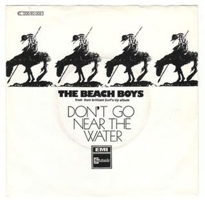 Don't Go Near the Water (The Beach Boys song) - UK single cover